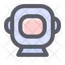 Astronaut Helmet Suit Icon