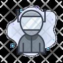 Astronomy Space Astronaut Icon