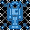 Astronaut Aerospace Alien Icon
