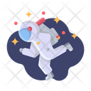 Astronaut Galaxy Space Icon