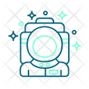 Astronaut Space Galaxy Icon