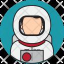 Astronaut Avatar People Icon