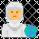 Astronaut Avatar Occupation Icon