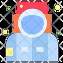 Astronaut Helmet Sute Icon