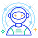 Astronaut Spaceman Space Icon