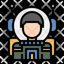 Astronaut Cosmonaut Spaceman Icon