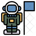 Astronaut Spaceman Mission Icon
