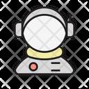 Spaceman Science Cosmonaut Icon