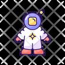 Astronaut Science Universe Icon