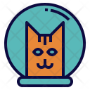 Astronaut Cat Icon