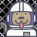 Astronaut Dog Dog Astronaut Dog Icon