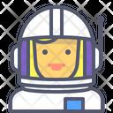 Astronaut Female Female Astronaut Female Icon