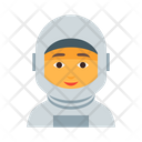 Astronaut Cosmos Female Icon