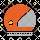 Astronaut Helmet Protection Icon