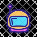Space Astronaut Astronomy Icon