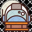 Astronaut Helmet Astronaut Space Man Icon
