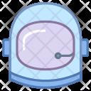 Astronaut Helmet Suit Icon