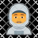 Astronaut Boy Cosmos Icon