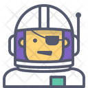 Astronaut pirate Icon