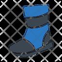 Astronaut Leg Shoe Icon