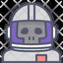 Astronaut Skull Skull Astronaut Skull Icon