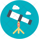 Astronomy Search Spyglass Icon