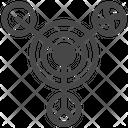 Astronomy Circles Universe Icon
