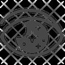 Astronomy Eye Impress Icon