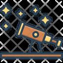 Astronomy Telescope Discover Icon
