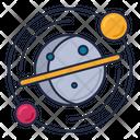 Astronomy Solar System Galaxy Icon
