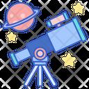 Astronomy Space Telescope Icon
