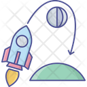 Astronomy Innovation Planet Icon