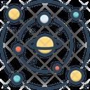 Astronomy Celestial Globe Asteroid Icon