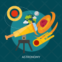 Astronomy Space Universe Icon