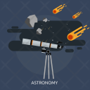 Astronomy Space Telescope Icon