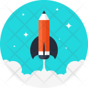 Astronomy Education Pencil Icon