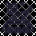 Machine Robot Astronomy Icon