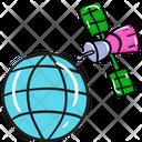 Astronomy Satellite Icon