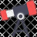 Astrophysics Spy Glass Telescope Icon