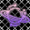Astrophysics Universe Planet Icon