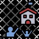 Asylum Refuge Refugee Icon