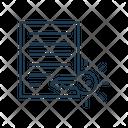 Asymmetric Keys Asymmetric Confidential Icon
