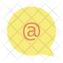 Iat The Rate At The Rate Mail Icon