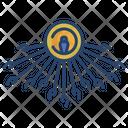 Aten Egyptian Egypt Icon