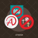 Atheism Day Celebrations Icon