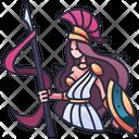 Athena Goddess Greece Icon