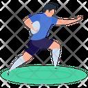 Athlete Yoga Gymnastic Icon