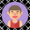 Athlete Basketball Sport Icon