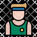 Athlete Sport Avatar Icon