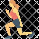 Athlete Exercising Player Icon